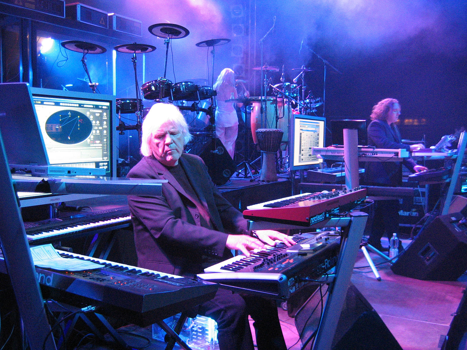 Egar Froese of Tangerine Dream