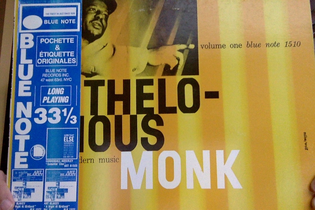 Thelonious Monk Genius of Modern Music vol 1 Blue Note 1510 front