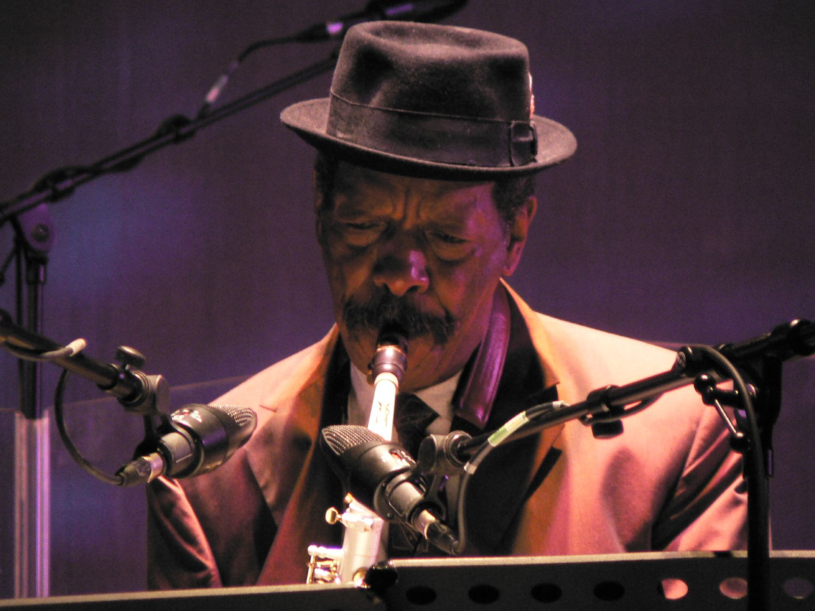 Ornette Coleman by Andy Newcombe
