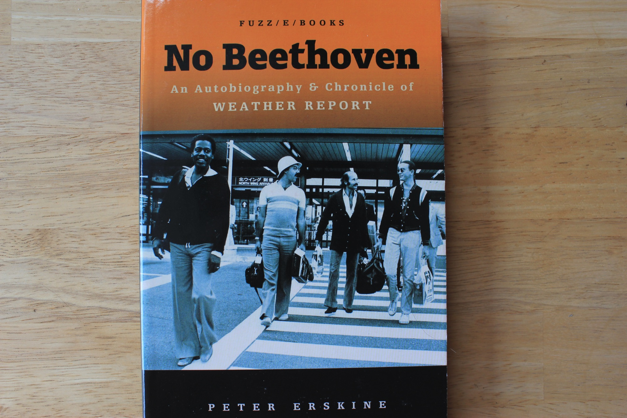 Peter Erskine No Beethoven book