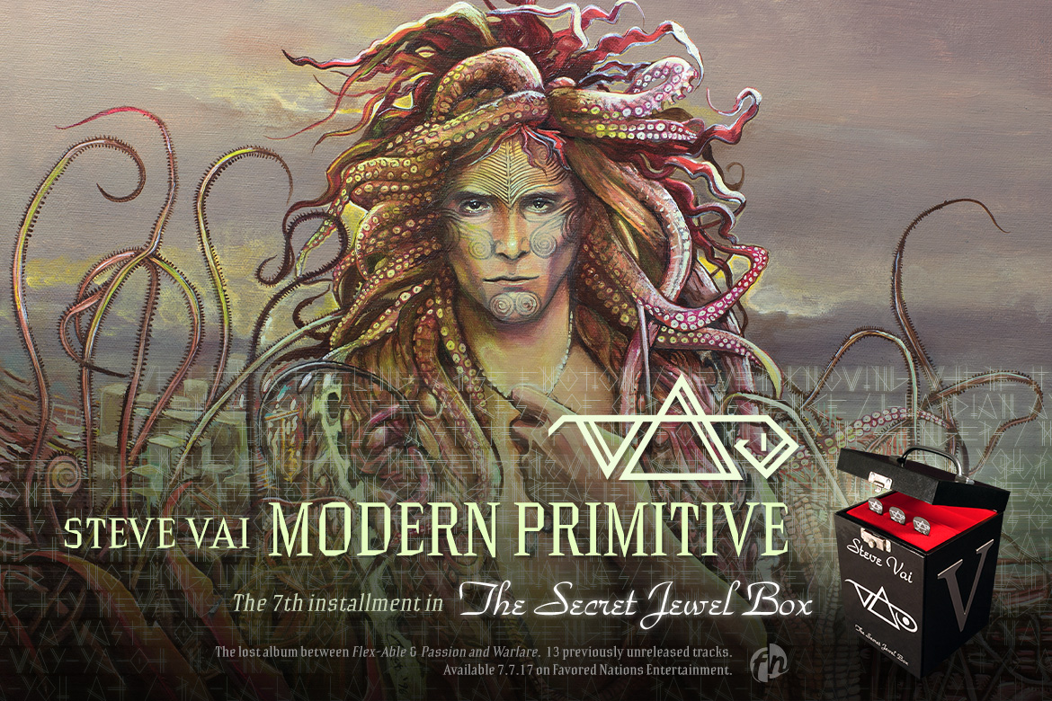 Steve Vai Modern Primitive will go into the Secret Jewel Box