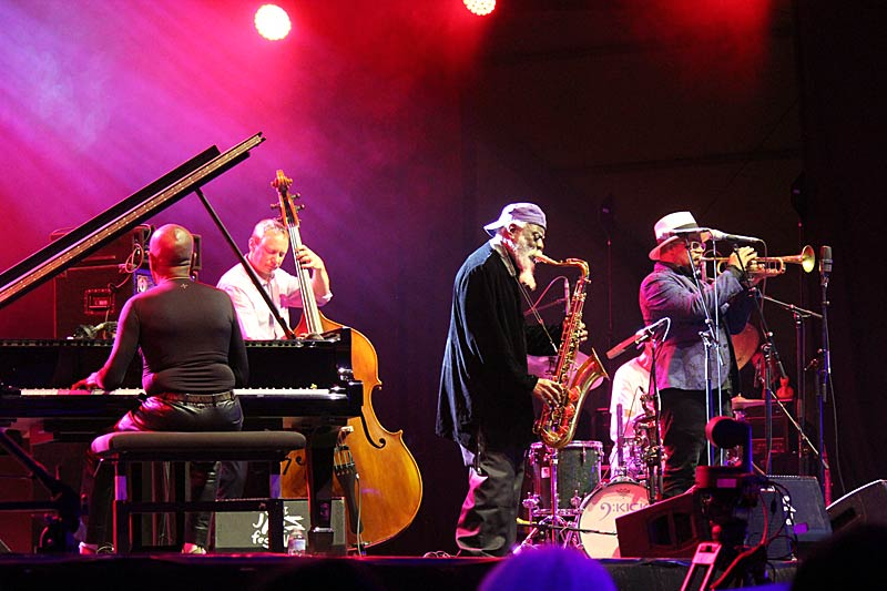 Pharoah Sanders Quartet and Nicolas Payton - Ghent Jazz 2018